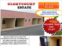 1 Bedroom Flat at Mowe Ogun