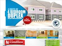 4 Bedroom Duplex at Yenagoa Bayelsa