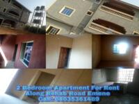 2 Bedroom Flat Apartment For rent at Enugu, Enugu