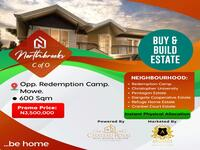 Land For sale at Mowe, Ogun