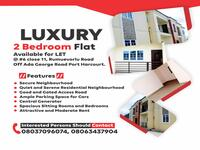 2 Bedroom Flat Apartment For rent at Port Harcourt, Rivers