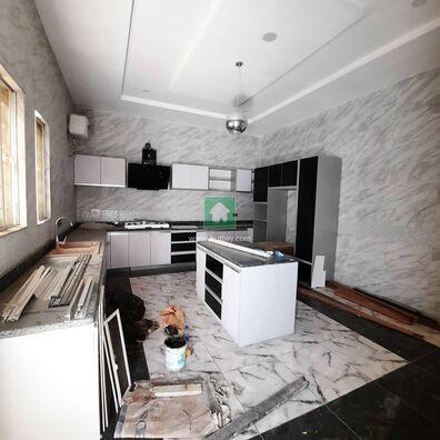 5Bedroom Luxury Fully Detached Duplex With BQ, Lekki, Lagos