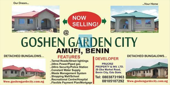 3 Bedroom Bungalow at Benin Edo, Benin, Edo