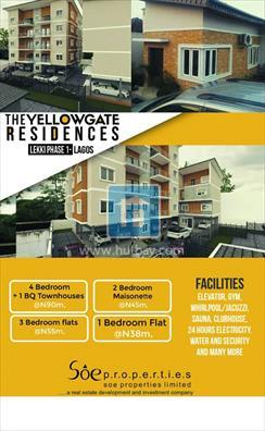 2 Bedroom Massionetes at Lekki Lagos, Lekki, Lagos