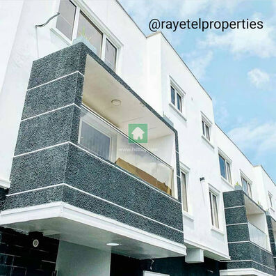 Best Deal For A 4 Bedroom Townhouse For Sale At Ajah, Ajah, Lagos