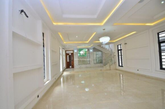 5 Bedroom Fully Detached Duplex With 2 Rooms Bq With Ac, Lekki, Lagos