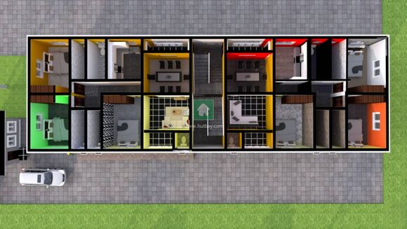 Block Of 5 Units, 3 Bedrooms All Ensuit Flats (Joint Venture), Lekki, Lagos