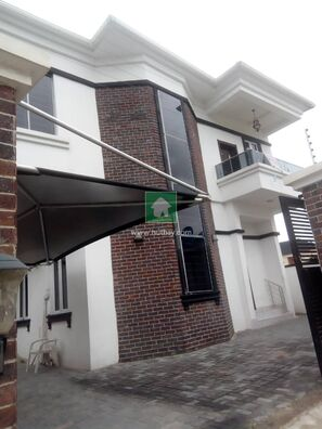 Fully Detached Duplex At Osapa London For Rent, Lekki, Lagos