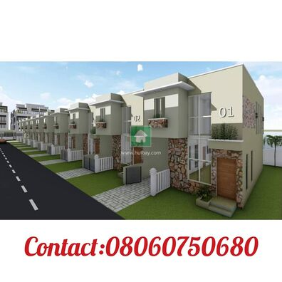 Exquisite 4 Bedroom Fully Fitted Terrace  Duplex At Montego Gardens III Ajah Lekki Lagos Nigeria ., Lekki, Lagos