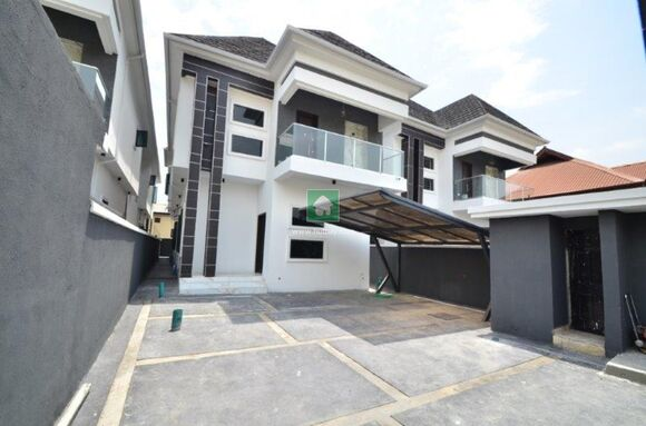 5 Bedroom Fully Detached Duplex With Bq, Lekki, Lagos