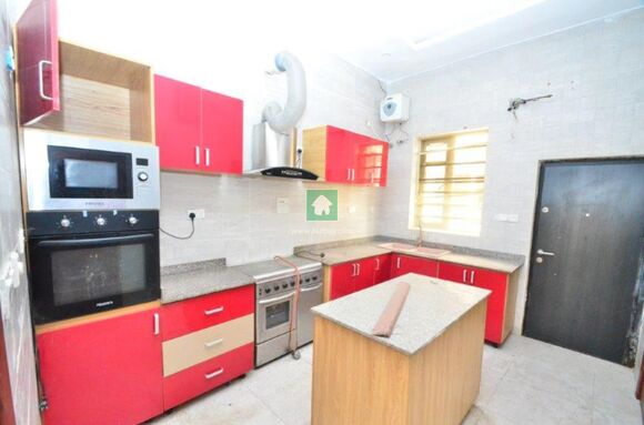 4 Bedroom Semi Detached Duplex With Bq, Lekki, Lagos