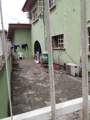 Commercial  Property Along The Road In A Prime Area, Magodo, Lagos