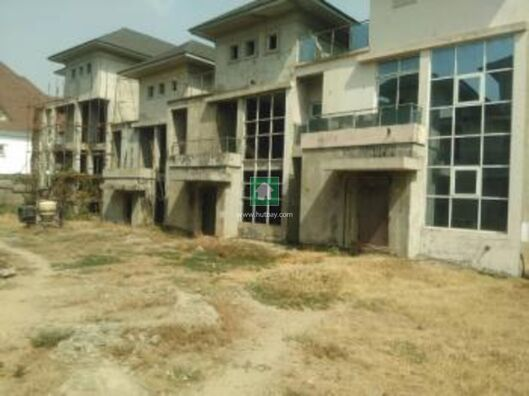 8 Units Of Uncompleted Terraced Duplex, Asokoro, Abuja