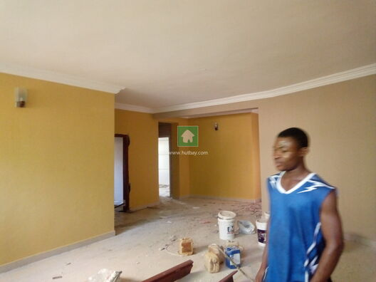 Well Renovated Three Bedrooms Basement To Let At Katampe Main, Katampe, Abuja