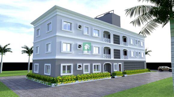 Block Of 5 Units, 3 Bedrooms All Ensuit Flats (Joint Venture), Lekki, Lagos