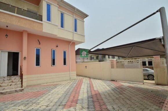 5 Bedroom Fully Detached Duplex With Bq, Ajah, Lagos