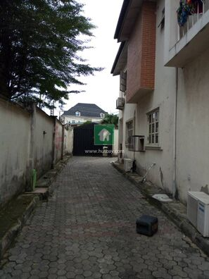 5 Bedroom Duplex With 2 Now 4 Bedroom Flat And A Bq, Omole, Lagos