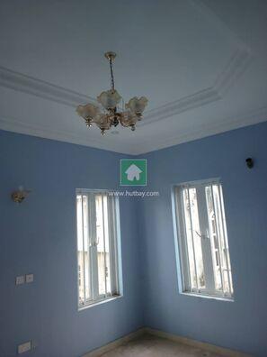 4 Bedroom  Detached  Duplex  With  A  Room  BQ, Magodo, Lagos
