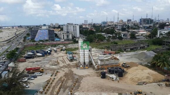 36,570Sqm Fully Fenced And Gated Dry Bareland At Victoria Island, Victoria Island, Lagos