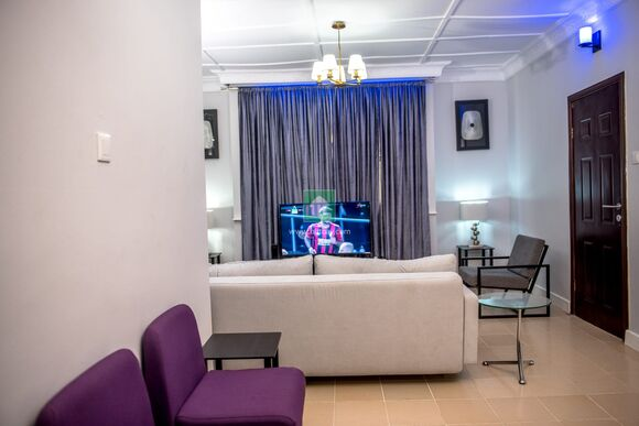 Tastefully Furnished 2 Bedroom Flat With Excellent Facillities, Ibadan, Oyo