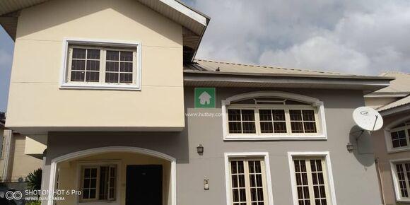 4 Bedroom Fully Detached Duplex With A BQ In A Mini Estate, Victoria Island, Lagos