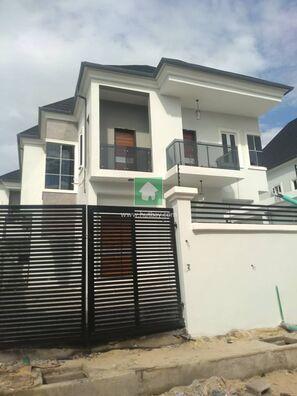 Newly Built 5 Bedroom Fully Detached Duplex, Lekki, Lagos