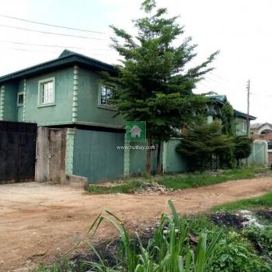 4 No 3 Bedroom Flats With 3 No Self Contained Bq, Isolo, Lagos