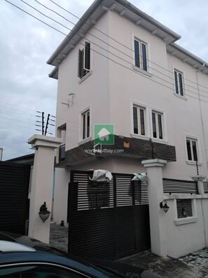 4 Bedroom Detached Duplex On 2 Floors @ Agungi In An Estate, Lekki, Lagos