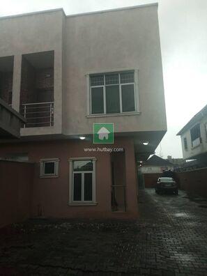 4Bedroom Semi Detached Duplex With A Room Bq, Lekki, Lagos