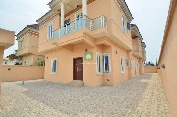 4 Bedroom Semi Detached Duplex With Bq, Lekki, Lagos