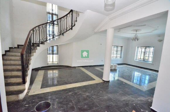 5 Bedroom Fully Detached Duplex With A Separated Mini Flat, Lekki, Lagos