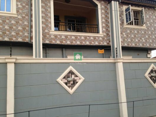 A Very Clean And Decent 3 Bedroom Flat At Mercy Land Estate, Iyana Ipaja, Lagos